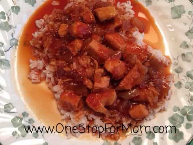 Spicy Chicken & Rice