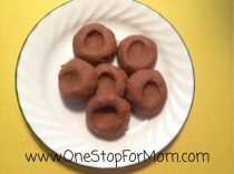 Peanut Butter and Chocolate Thumb Prints
