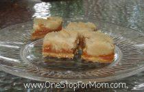 Caramel Salted Butter Bars